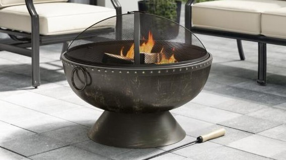 Outside Fire bowl Evaluation — Uniflame Gasoline Firebowl