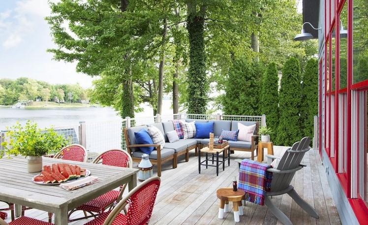 15 Excellent Steel Outdoor furniture Ideas