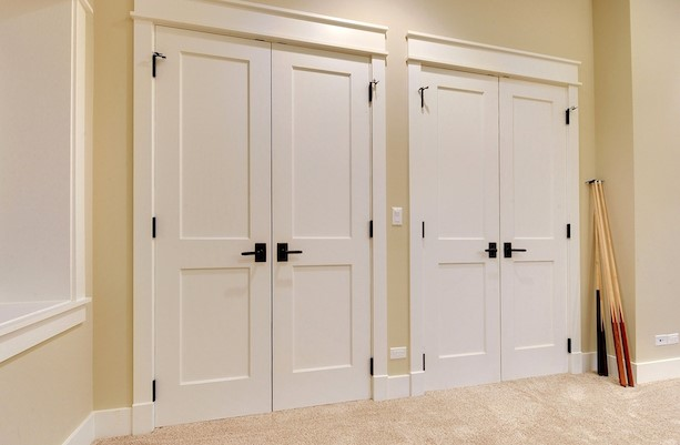 Slipping Wardrobe Doorways — Practical, Useful, Stunning