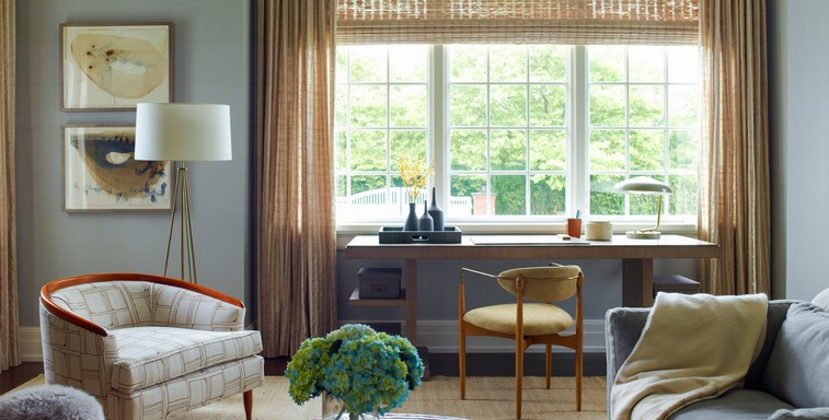 Designing Along with Window treatments