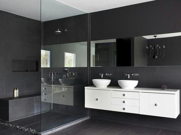 Dark Restroom Vanities — Elegance as well as Design