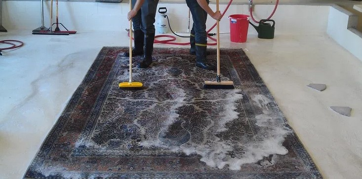 Don'ts with regard to Rug cleaning